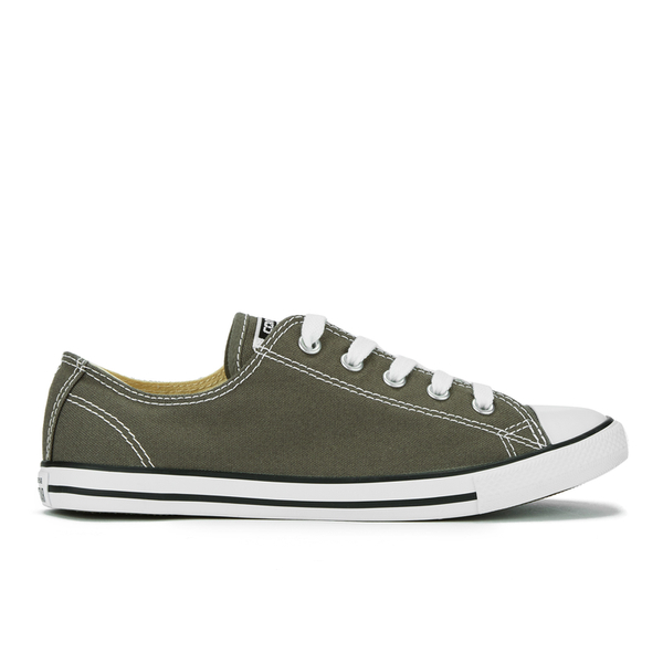 Converse Women's Chuck Taylor All Star Dainty Ox Trainers - Charcoal