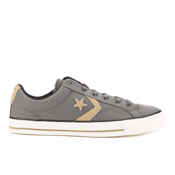 c5a95fcd2edd Converse CONS Men s Star Player Canvas Ox Trainers - Thunder Sandy Black   Image