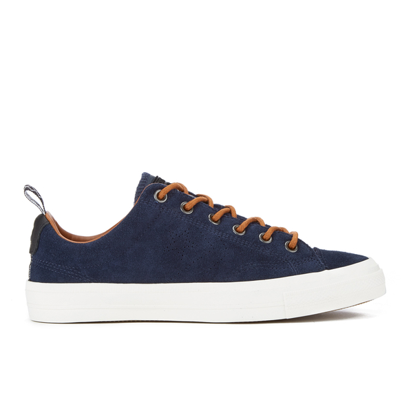 UK Outlet - Converse Star Player Suede Ox Chocolat Mens Trainers