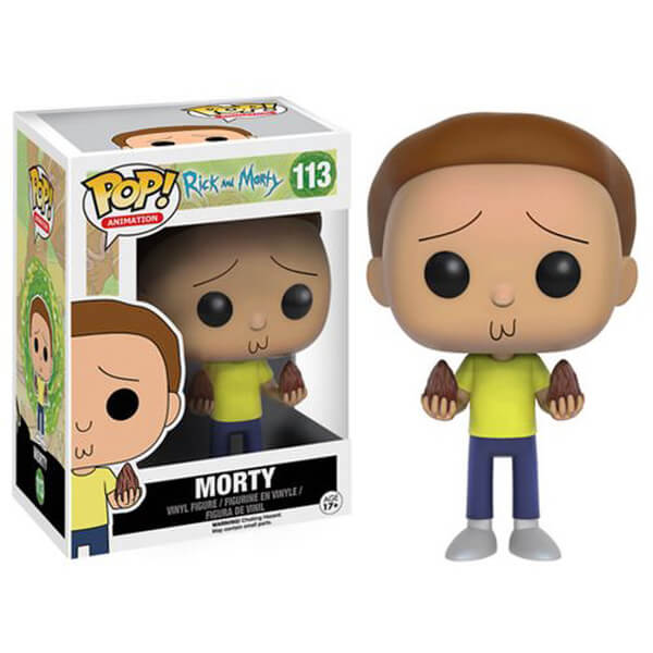 Rick Morty Pop Vinyl Figure Merchandise Zavvi