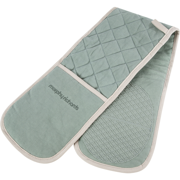 Morphy Richards 973514 Double Oven Glove Sage Green Iwoot