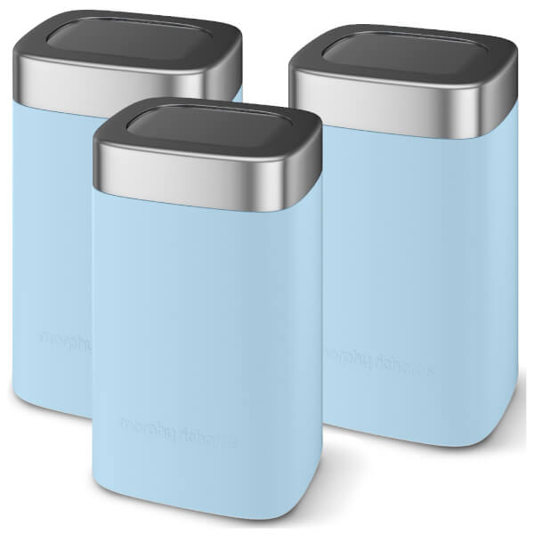 Morphy Richards Kitchen Set: Morphy Richards 974072 Accents Set Of 3 Canisters