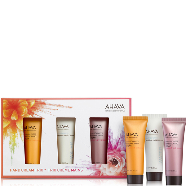 AHAVA Mini Hand Cream Trio (Worth $21)