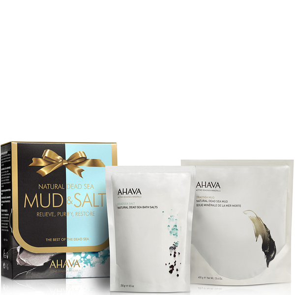 AHAVA Natural Mud and Salt Gift Set