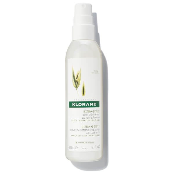 KLORANE Leave-In Detangling Spray with Oat Milk 6.7oz