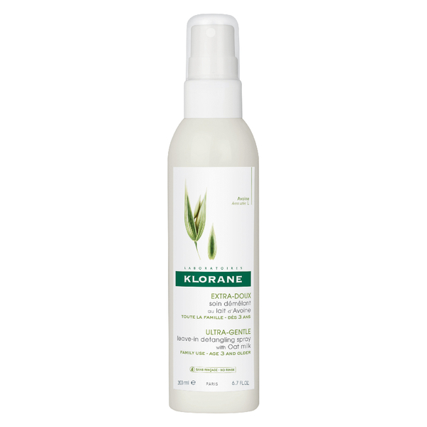 KLORANE Leave-In Detangling Spray with Oat Milk