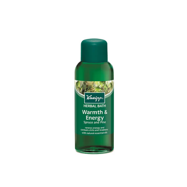 Kneipp Spruce and Pine Warmth & Energy Herbal Bath 67 fl.oz (Free Gift)
