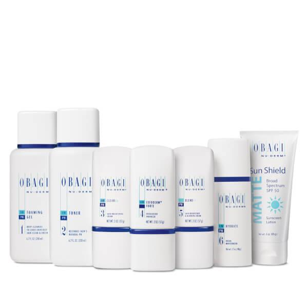 Obagi Nu Derm Fx System Normal To Oily Skinstore
