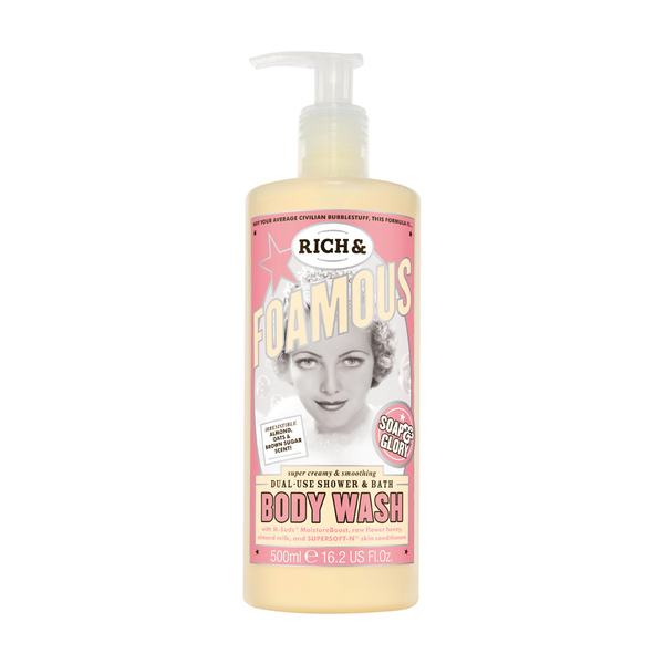 Soap and Glory Rich and Foamous Dual-Use Shower and Bath Body Wash