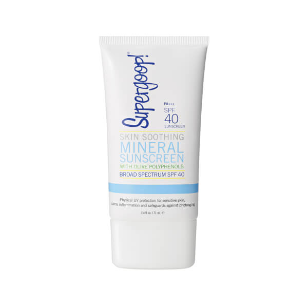 Supergoop! SPF 40 Skin Soothing Mineral Sunscreen with Olive Polyphenols