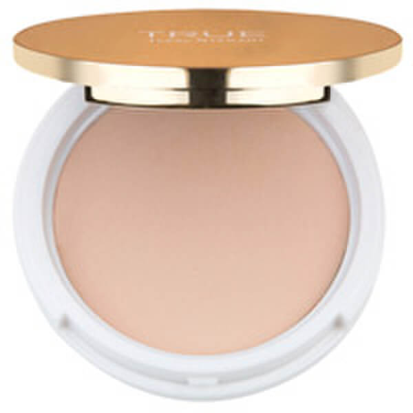 True Isaac Mizrahi Pressed and Perfect Powder Foundation - Bisque