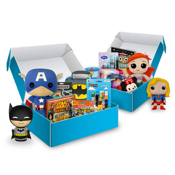 My Geek Box Kids - Heroes Mystery Past Box