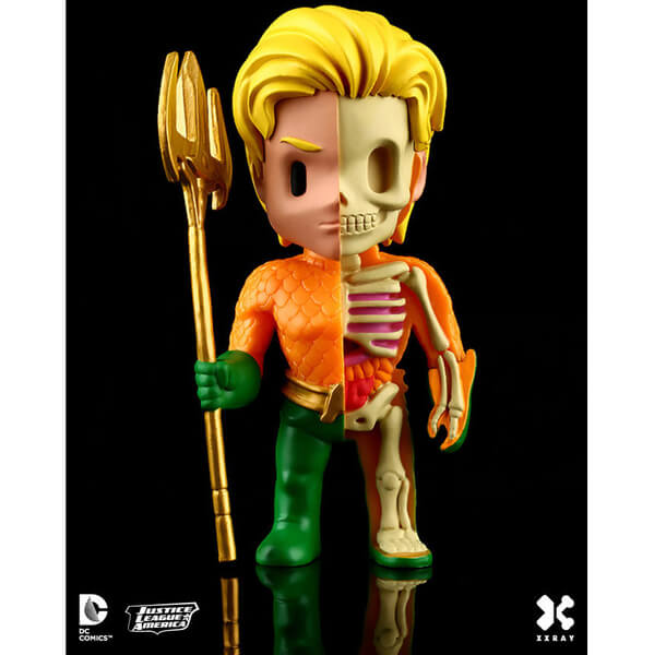 DC Comics XXRAY Figure Wave 2 Aquaman 10 cm