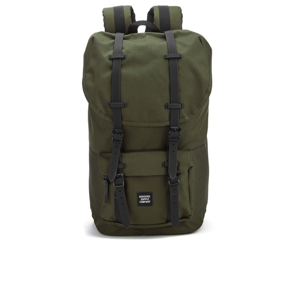 c4c2582dc6 Herschel Supply Co. Little America Backpack - Forest Night Black Rubber   Image 1