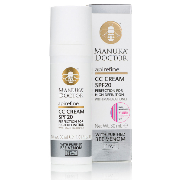 CC Cream ApiRefine con FPS20 de 30 ml de Manuka Doctor