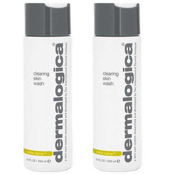 2x Dermalogica MediBac Clearing Skin Wash 250ml