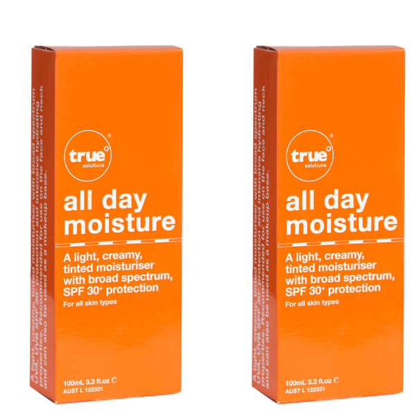 2x True Solutions - All Day Moisture SPF 30+ Tinted