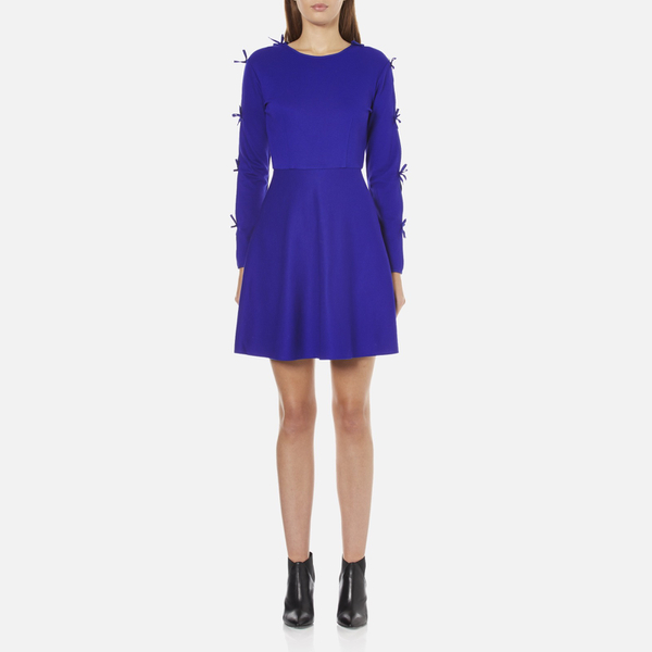 Sportmax Code Women's Argenta Bow Sleeve Dress - Cornflower Blue