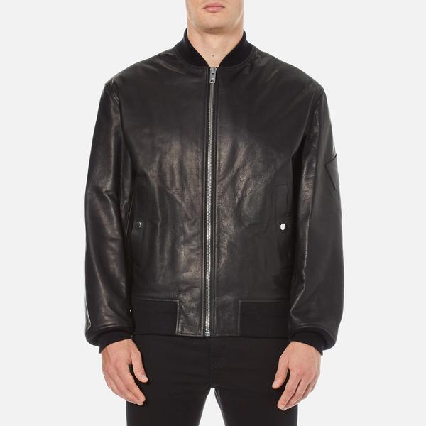 Alexander Wang Men's Core Bomber Jacket - Black