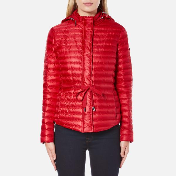 Michael Michael Kors Women S Packable Puffer Jacket Red