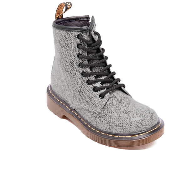 Boots Delaney Light Grey Jr - Dr Martens TKcmPXv