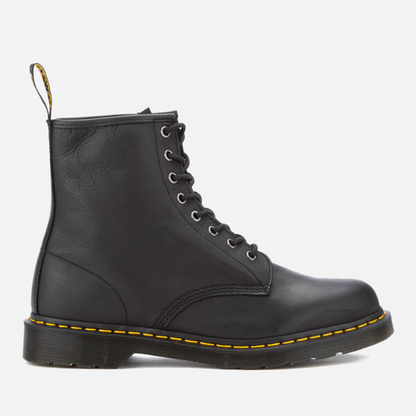 Dr. Martens Men's Core 1460 Leather 8-Eye Lace Up Boots - Black
