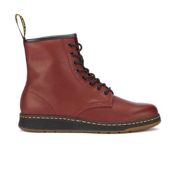 Dr. Martens Men's Lite Newton 8-Eye Boots - Cherry Red