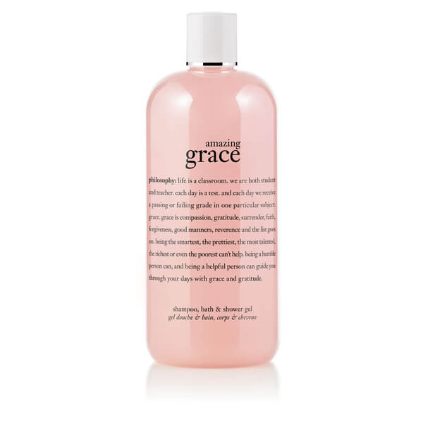 philosophy amazing grace shampoo, bath & shower gel 480ml