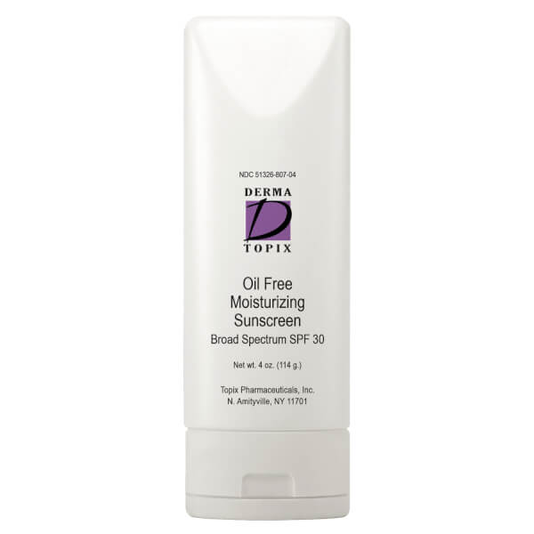 DermaTopix Oil Free Moisturizing Sunscreen SPF 30