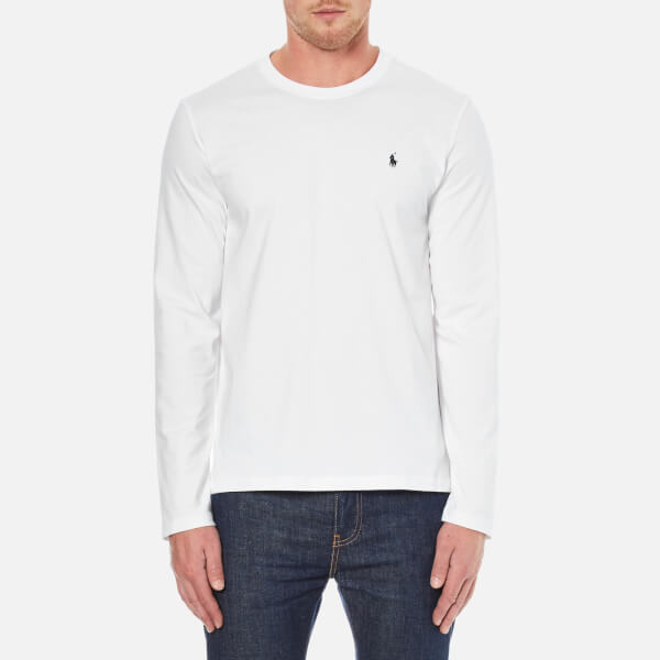 Polo Ralph Lauren Men's Long Sleeve Crew T-Shirt - White