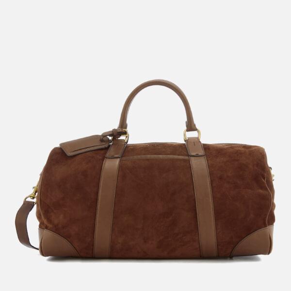 Polo Ralph Lauren Men S Duffle Bag Suede Snuff