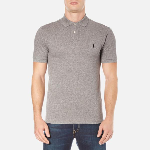 Polo Ralph Lauren Men's Short Sleeve Slim Fit Polo Shirt - Canterbury Heather