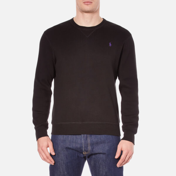 Polo Ralph Lauren Men's Crew Neck Knitted Sweatshirt - Polo Black