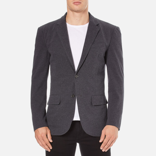 Polo Ralph Lauren Men's Jersey Buttoned Blazer - Grey Heather
