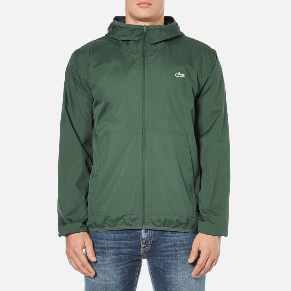 Lacoste Men's Showerproof Lightweight Jacket - Kelp