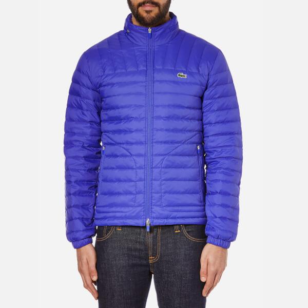 Lacoste Mens Padded Jacket Mens Coats Mens Coats COLOUR-marine
