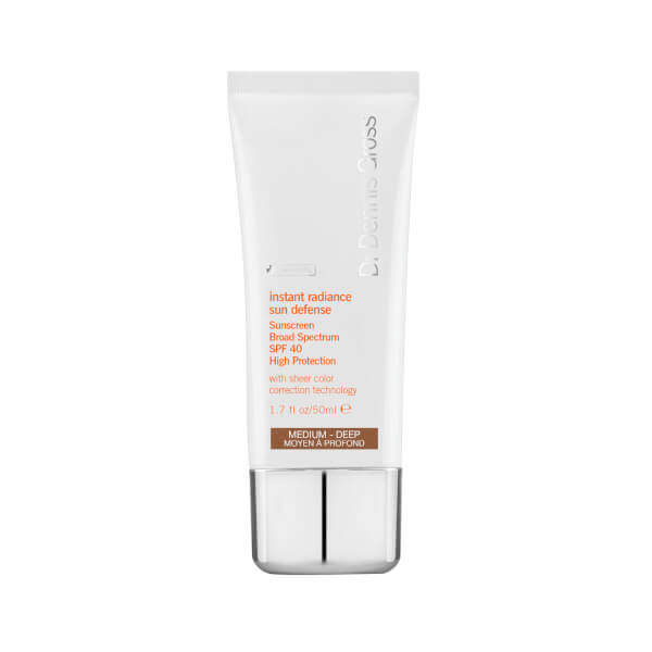 Dr. Dennis Gross Instant Radiance Sun Defense Sunscreen SPF 40 Medium-Deep