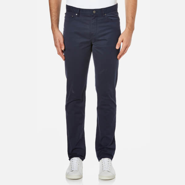 Michael Kors Men's Slim 5 Pocket Twill Jeans - Midnight