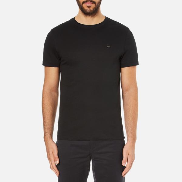 Michael Kors Men's Sleek Mk Crew Neck T-Shirt - Black