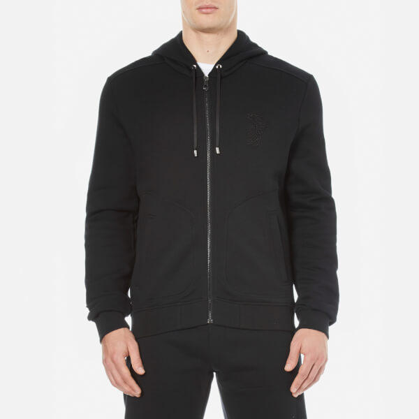 Versace Collection Men's Chest Logo Tracksuit - Nero