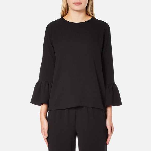 Ganni Women's Clark Top - Black