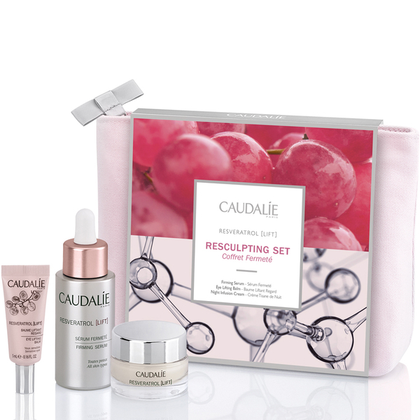 Caudalie Resveratrol Lift Get Resculpted Set (Worth £126)