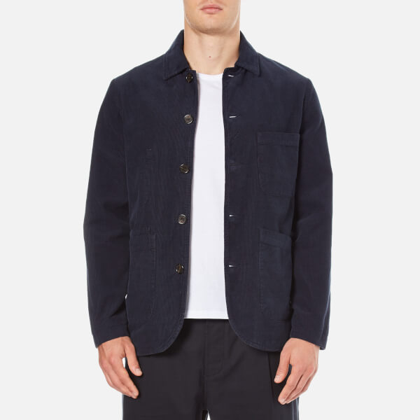 Universal Works Men's Bakers Jacket - Navy