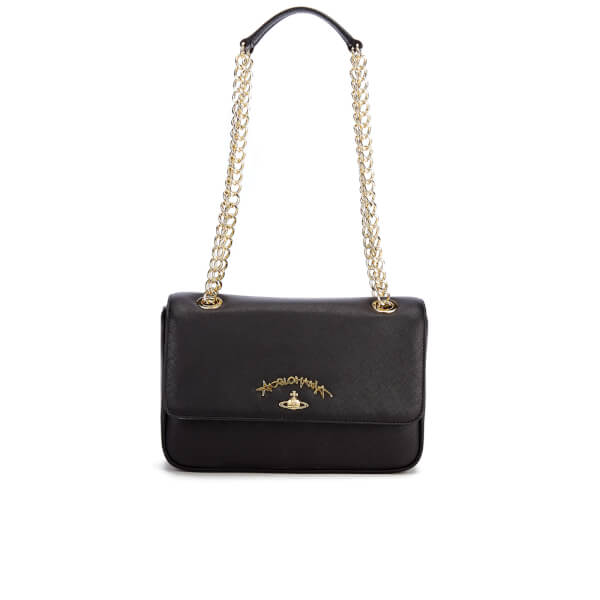 cc95fc2f77 Vivienne Westwood Women's Divina Chain Shoulder Bag - Black: Image 1