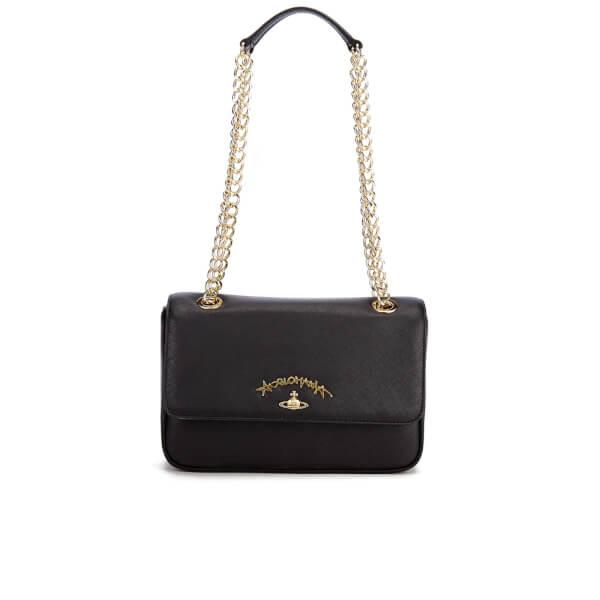 241a80bf16cf Vivienne Westwood Women s Divina Chain Shoulder Bag - Black  Image 1