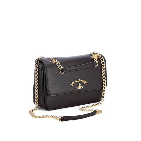 Vivienne Westwood Women's Divina Chain Shoulder Bag - Black: Image 3