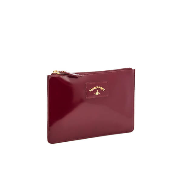 71cb0440c1 Vivienne Westwood Women s Newcastle Clutch Bag - Bordeaux  Image 3