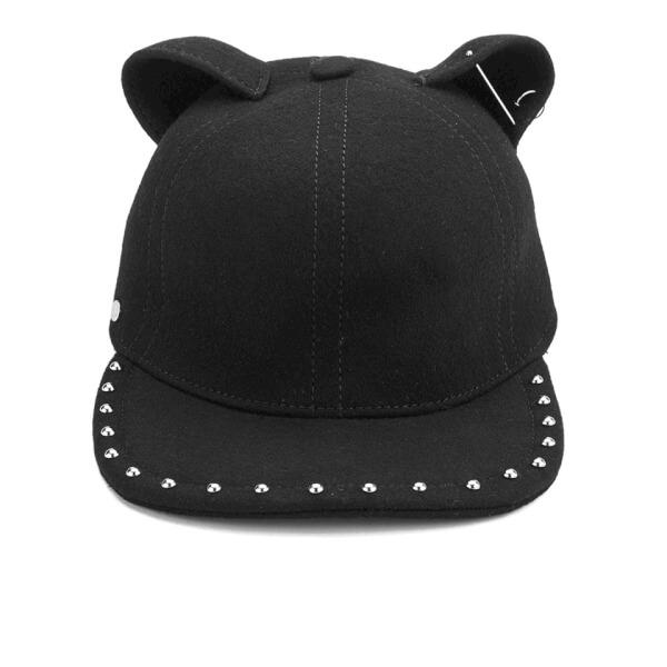 Karl Lagerfeld Women s Choupette Cat Cap - Black  Image 1 a1adeefb621