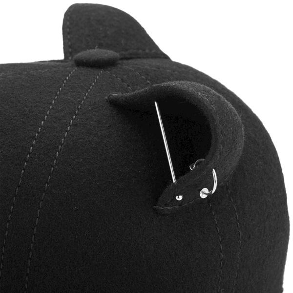 Karl Lagerfeld Women s Choupette Cat Cap - Black  Image 4 4c18cc204f2