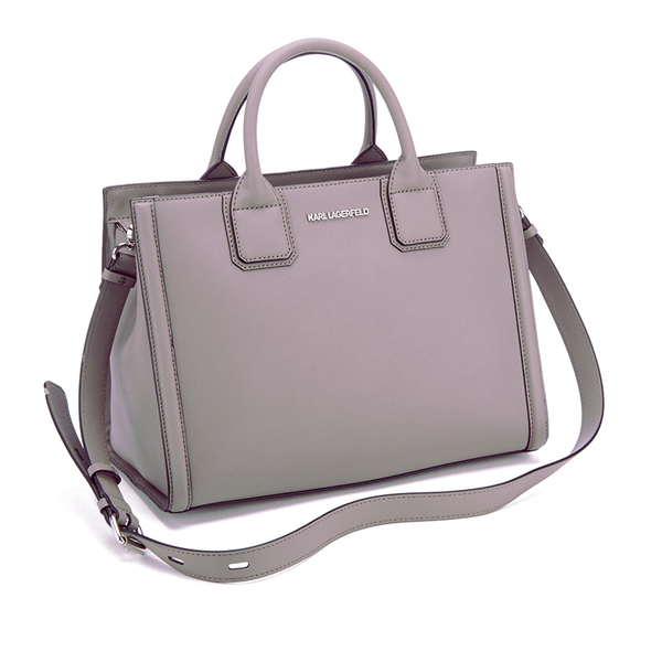 a38f46202bd9 Karl Lagerfeld Women s K Klassik Tote Bag - Rosy Brown  Image 3